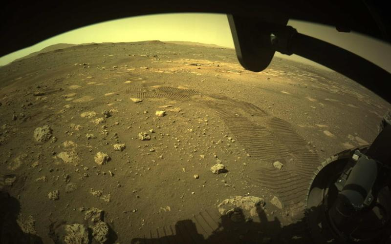 Mars rover Perseverance takes first spin on surface of red planet