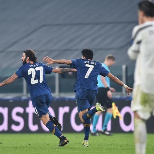 Ten-man Porto stun Juve to reach last eight in thriller