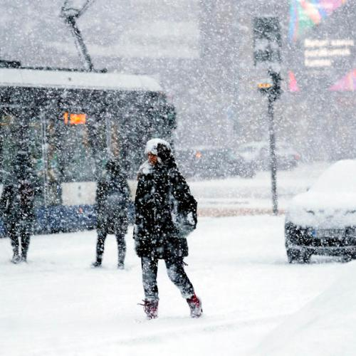 Photo Story: Snowstorm in Riga