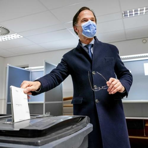 Party of Dutch PM Rutte leads parliamentary election in Netherlands -exit poll