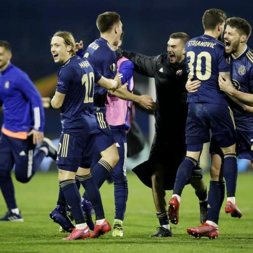 Dinamo stun Spurs as brilliant Orsic nets hat-trick