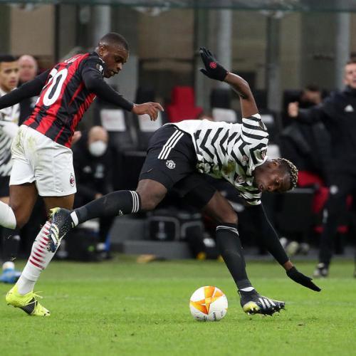 Pogba goal sends Man United into Europa League last eight