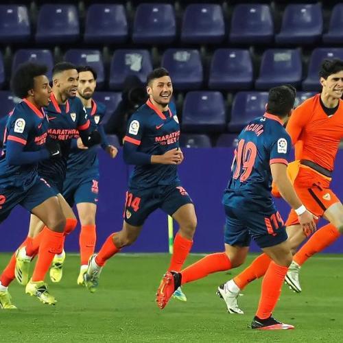 Sevilla keeper Bono grabs last-gasp equaliser at Valladolid