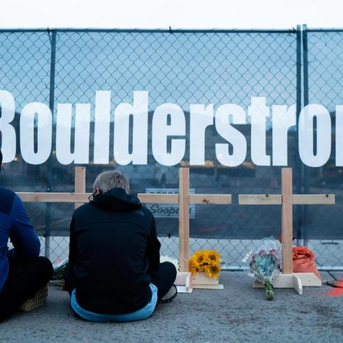 Photo Story – Aftermath of mass shooting in Colorado