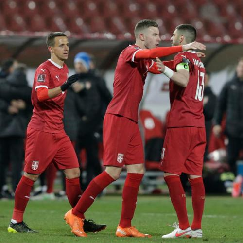 Mitrovic double gives Serbia 3-2 win over Ireland