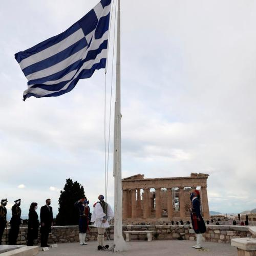 Greece celebrates 200 years of independence in pared-back ceremony