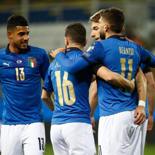 Berardi and Immobile secure Italy's 2-0 win on Northern Ireland