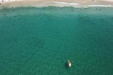 EPA's Eye in the Sky: Copacabana beach, Brazil