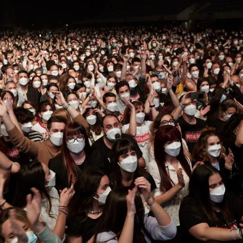'No sign of contagion' after the 5,000-person rock concert in Barcelona