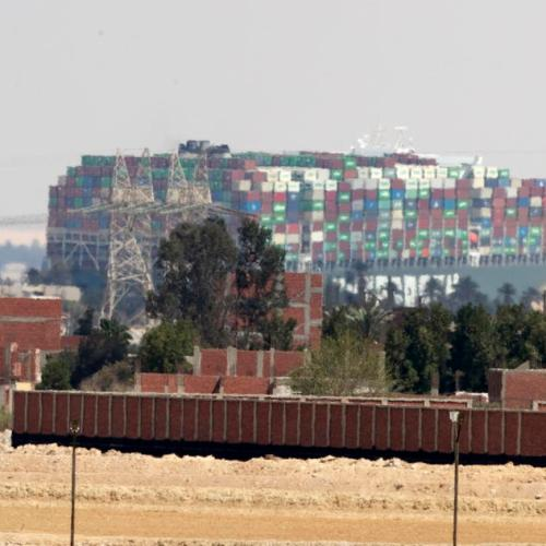 Suez Canal head says president ordered preparations for lightening stranded ship's cargo