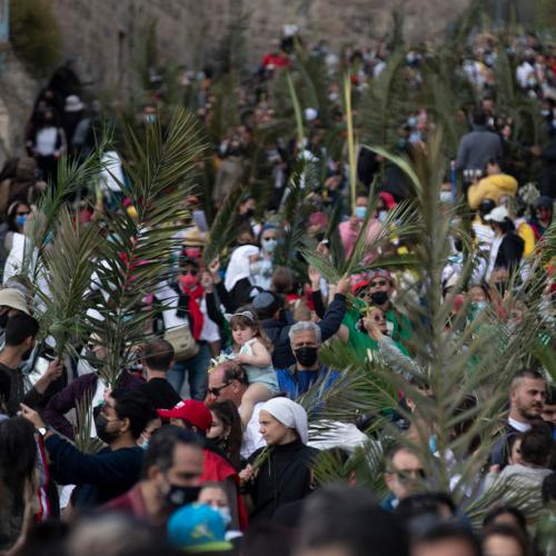 'We feel more hopeful' – Latin Patriarch states as Holy Sepulchre church opens on Palm Sunday