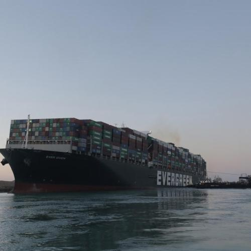 Ships on the move again in Suez canal