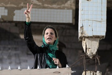 Aisha Gaddafi removed from the European blacklist
