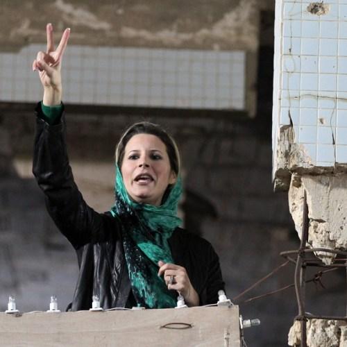 Aisha Gaddafi removed from the European blacklist