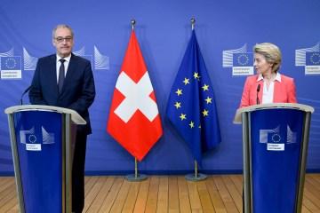 UPDATED: EU, Swiss talks on future ties stuck over Swiss carve-out demand
