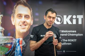 World Snooker champion O'Sullivan wins