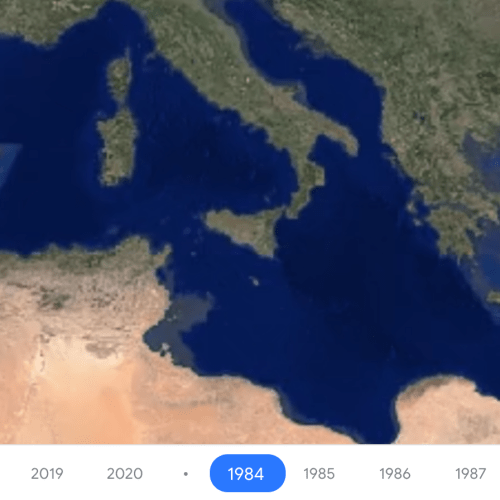 Google Earth's timelapse feature puts a spotlight on climate change