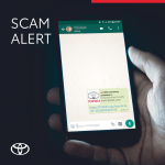 Toyota Malta warns of WhatsApp scam using its brand name