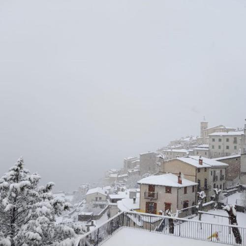 Photo Story: Heavy snow in Barrea, Italy