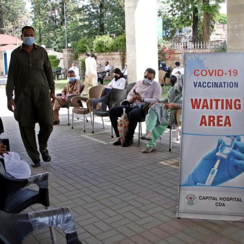 Young Pakistanis rush to purchase Russian vaccine as private sales open