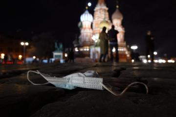 UPDATED: Russia's COVID-19 deaths return to record daily highs