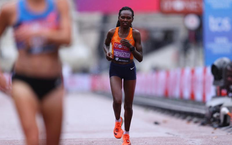 Kenya's Chepngetich breaks half marathon record in Istanbul