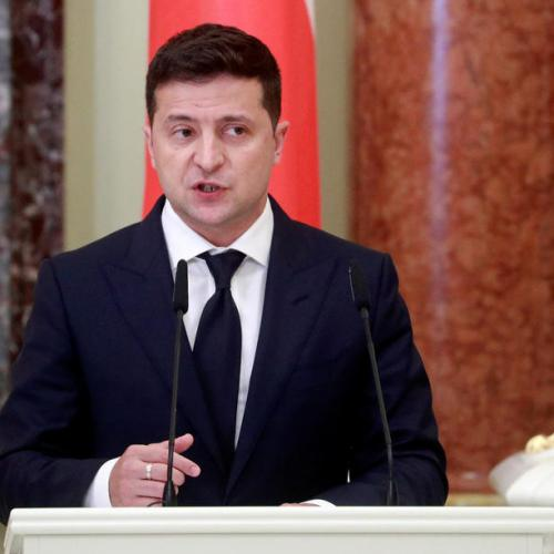 Ukraine has Britain's backing in standoff with Russia, Zelenskiy says after call with Johnson