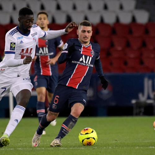 PSG's Verratti to miss Bayern clash after testing positive for COVID-19