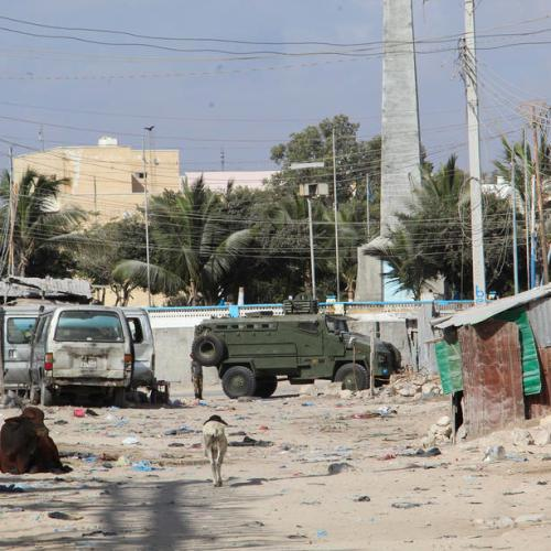 Ten killed in suicide bomb attack in Somali capital