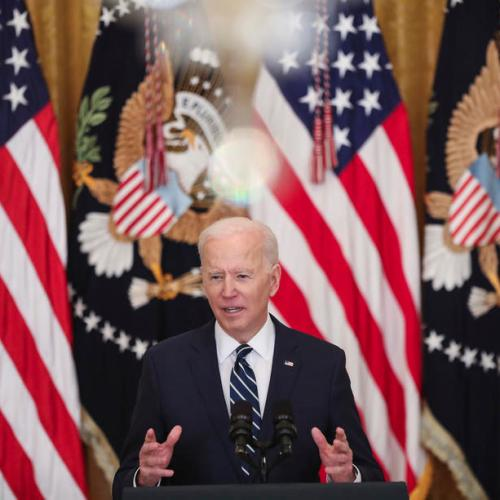 Biden says $2 trillion jobs plan rivals the space race in its ambition