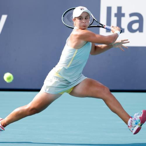 Ashleigh Barty storms into final at Miami Open