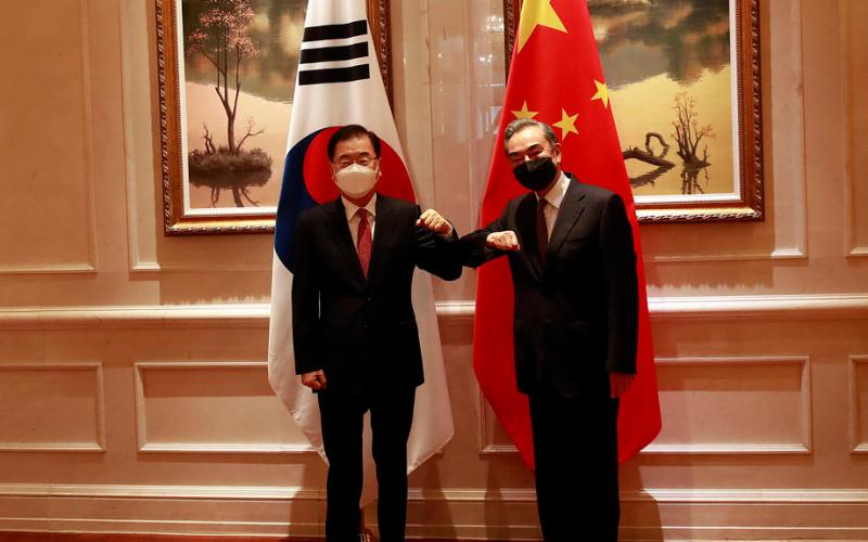 China, South Korea vow cooperation on North Korea after top diplomat meeting