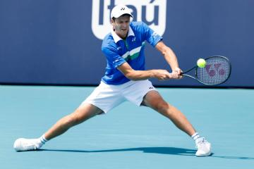 Poland's Hurkacz savours breakthrough victory at Miami Open