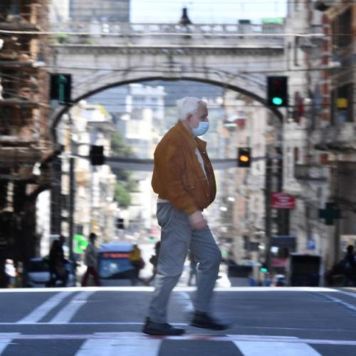 Photo Story – Daily life in Genoa amid the pandemic