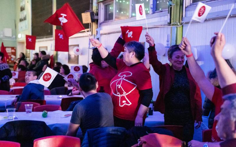 UPDATED: Left-wing party wins Greenland election, opposes big mining project