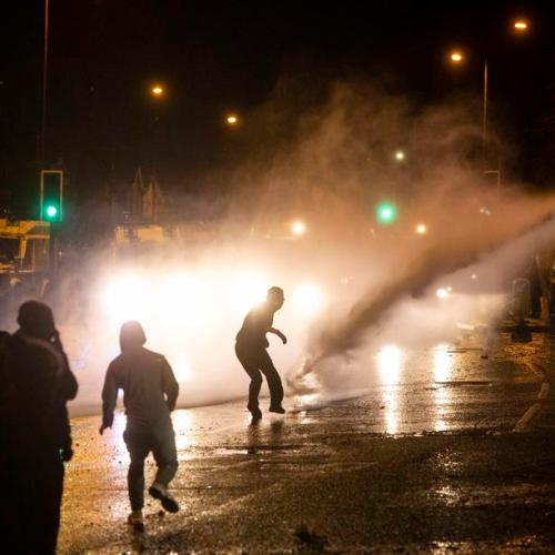 Another night of violence in Northern Ireland