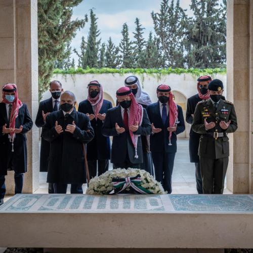 Jordan's King Abdullah and estranged Prince Hamza make first joint appearance since rift