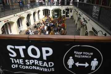 UK's Johnson warns lockdown, not vaccines, behind drop in COVID deaths