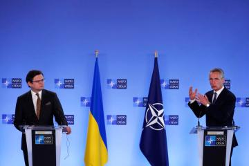 NATO chief warns of thousands of Russian troops amassed near Ukraine