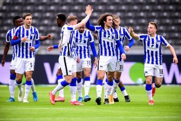 Hertha seek postponement of matches with team in quarantine