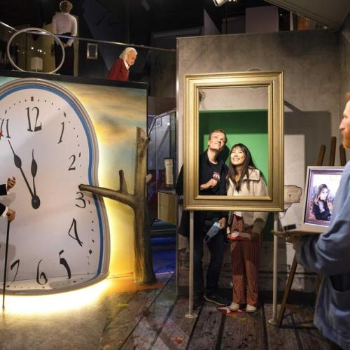 Madame Tussauds opens to limited number of visitors in Amsterdam