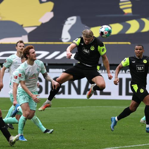 Dortmund's Haaland ends goal drought to revive Champions League hopes