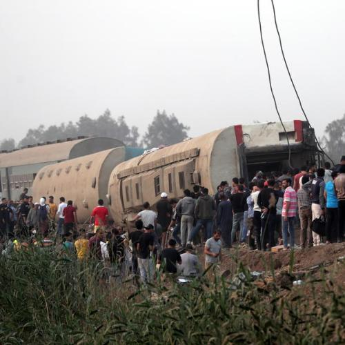 UPDATE – 109 persons injured after train derails in Egypt