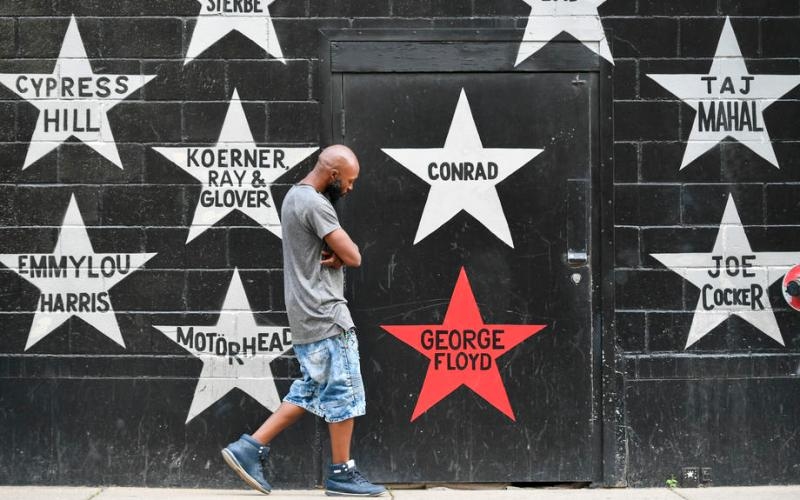 Activists mark one year anniversary of George Floyd's death
