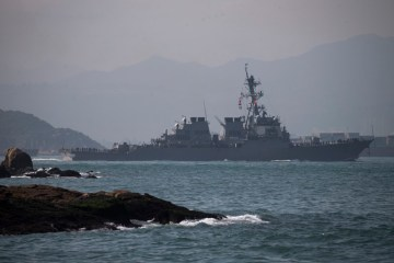China condemns latest U.S. warship transit of Taiwan Strait