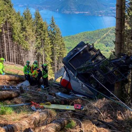 Safety brake on Italian cable car failed after line snapped – prosecutor
