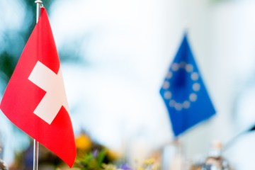 Swiss start freeing up blocked EU payment to help thaw frosty ties