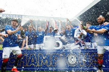 Gerrard's Rangers finish season unbeaten with 102-point haul