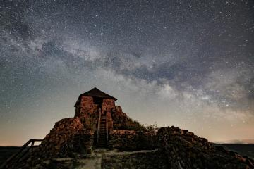 Photo Story – Milky Way above Salgotarjan, Hungary