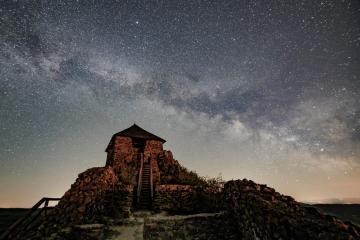 Photo Story – Milky Way above Salgotarjan, Hungary